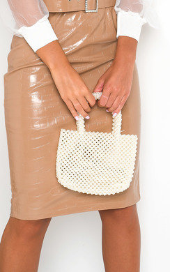 View the Lola Beaded Embellished Mini Bag online at iKrush
