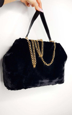 View the Lola Fluffy HandBag online at iKrush