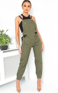 View the Lolita Dungaree Jumpsuit online at iKrush