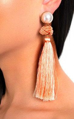 View the Lolita Tassel Drop Earrings  online at iKrush