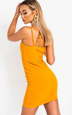 View the Louise Cut Out Mini Bodycon Dress online at iKrush