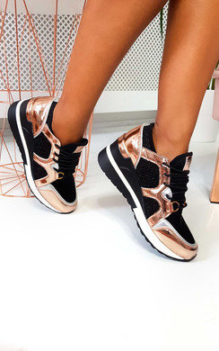 View the Louise Mesh Wedge Trainers online at iKrush