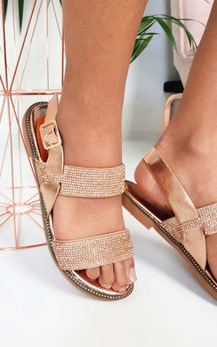 View the Luca Diamante Strappy Sandals online at iKrush