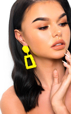 View the Lucy Statement Drop Earrings  online at iKrush