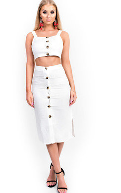 View the Lullah Button Up Midi Co-ord online at iKrush