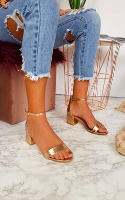 View the Lulu Barely There Block Heels  online at iKrush