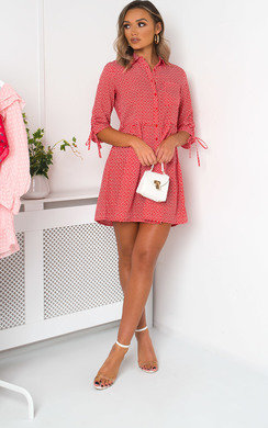 View the Luna Love Heart Shirt Dress online at iKrush