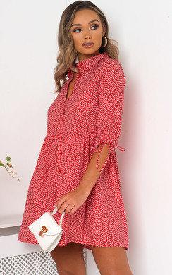 View the Luna Love Heart Shirt Dress online at iKrush