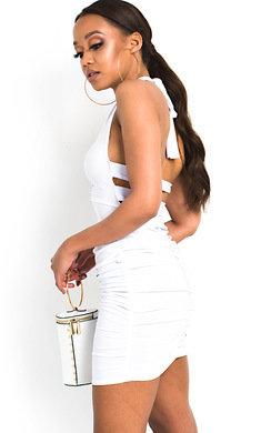 View the Luna Slinky Bodycon Halterneck Dress online at iKrush