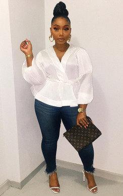 View the Macey Mesh Kimono Peplum Top online at iKrush
