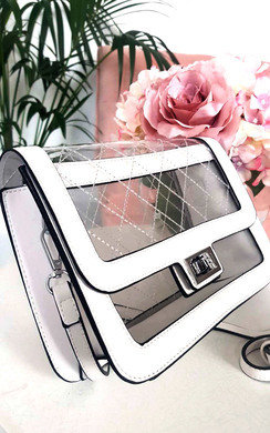 View the Mady Transparent Handbag online at iKrush