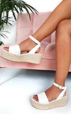 View the Maggie Flatform Sandals online at iKrush