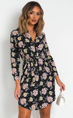 View the Maisie Shirt Midi Dress online at iKrush