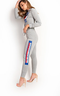 View the Marina Slim Fit Slogan Tracksuit online at iKrush