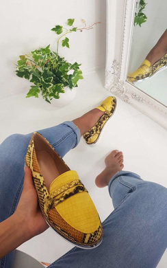 View the Mariya Faux Snake Skin Pump Sandal online at iKrush