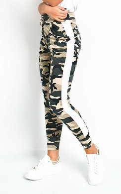 View the Marny Camo Knit Joggers online at iKrush