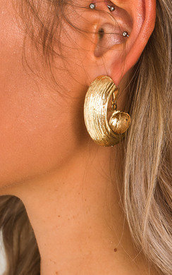 View the Maura Statement Clip On Earrings  online at iKrush