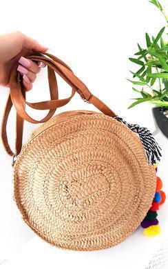 View the Mav Straw Circle Handbag online at iKrush
