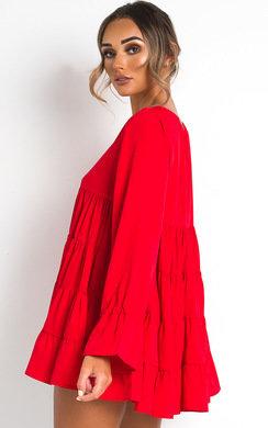 View the Megan Frill Shift Dress online at iKrush