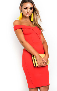 View the Melissa Off Shoulder Bodycon Dress online at iKrush