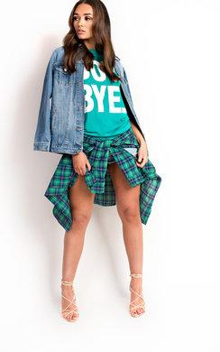 View the Melodie Boy Bye Slogan T-Shirt online at iKrush