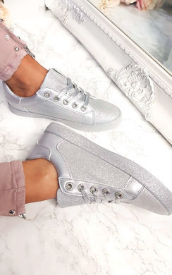 View the Merissa Glitter Trainers  online at iKrush