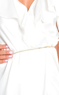 View the Mia Diamante Chain Belt online at iKrush