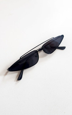 View the Mia Thin Retro Style Sunglasses online at iKrush