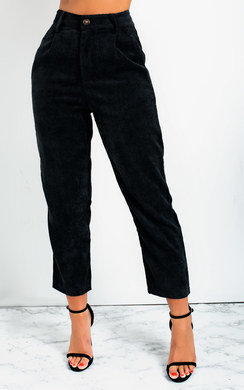 View the Micky Straight Leg Cord Trousers online at iKrush