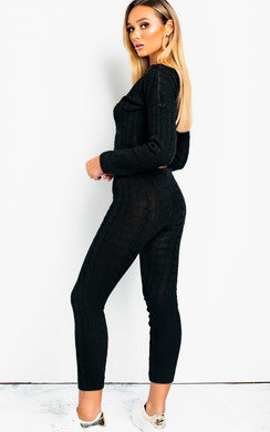 View the Mika Cable Knit Lounge Co-ord online at iKrush