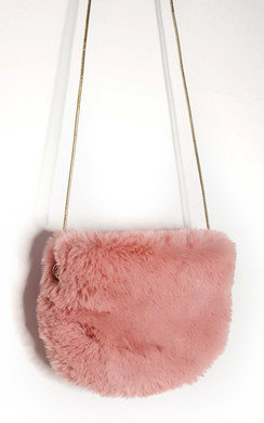 View the Milie Fluffy Shoulder Bag online at iKrush