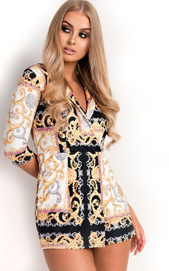 View the Millie Button Blazer Playsuit online at iKrush