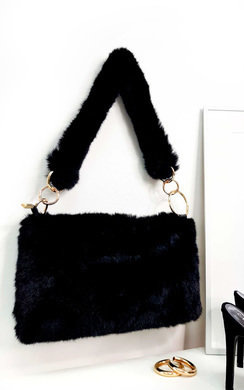 View the Mills Fluffy Shoulder Bag online at iKrush