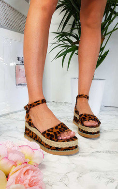 View the Mimi Flatform Sandals online at iKrush