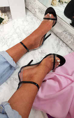 View the Minnie Perspex Barely There Heels online at iKrush