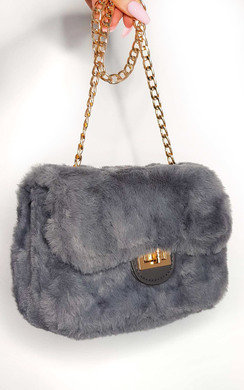 View the Mishti Fluffy Shoulder Bag online at iKrush
