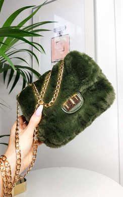 View the Mishti Fluffy Shoulder Bag online at iKrush