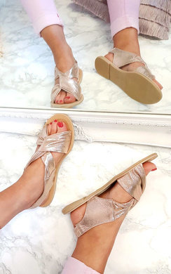 View the Misti Wrap Crossover Sandals online at iKrush