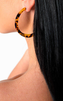 View the Misty Hoop Earrings  online at iKrush