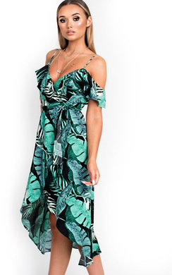 View the Miyka Tropical Maxi Dress online at iKrush
