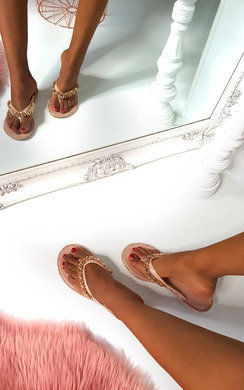 View the Molls Diamante Flip Flop Sandals online at iKrush