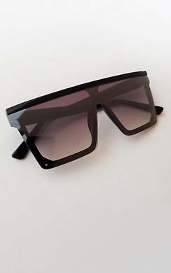 View the Mona Oversized Square Lens Sunglasses online at iKrush