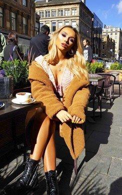 View the Monikh Teddy Bear Coat online at iKrush