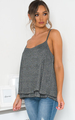 View the Morgan Glitter Cami Top online at iKrush