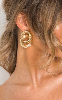 View the Mya Double Hoop Earrings  online at iKrush