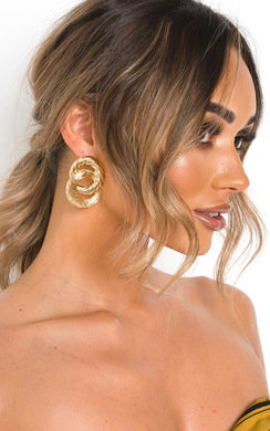 View the Mya Double Hoop Earrings  online at iKrush