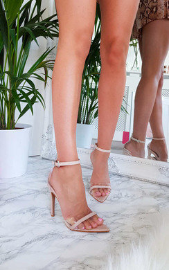 View the Mya Perspex Barely There Pointed Heels online at iKrush