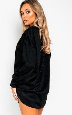 View the Mylene Oversized Jumper Dress online at iKrush