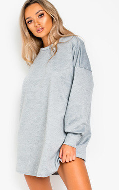 View the Mylene Oversized Jumper Dress online at iKrush