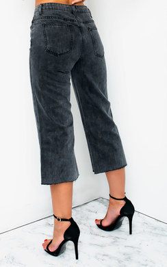 View the Nadine Mid Rise Cropped Flared Jeans online at iKrush